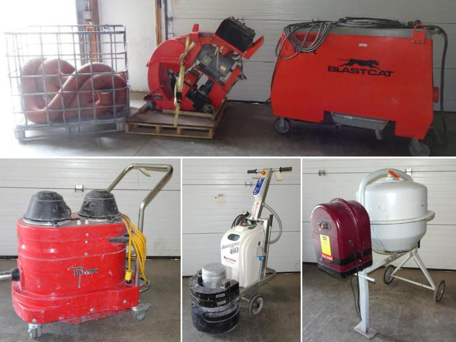 Commercial Floor Coating and Concrete Tools