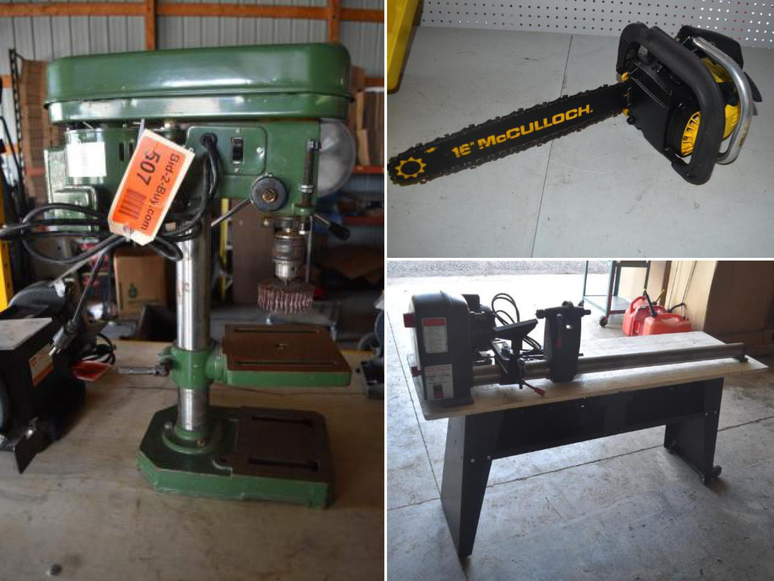 Shop and Woodworking Tools