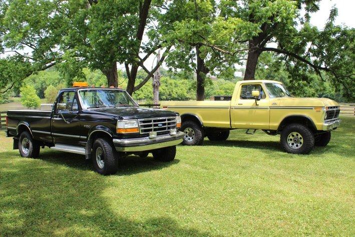 Ford Trucks, Antiques, Equipment - Downsizing
