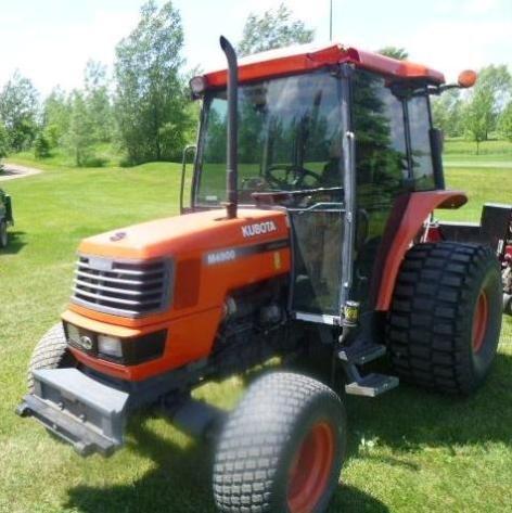 Kubota M4900 Utility Special, Toro Lawn Mowers, John Deere Gator, Golf Cart & More