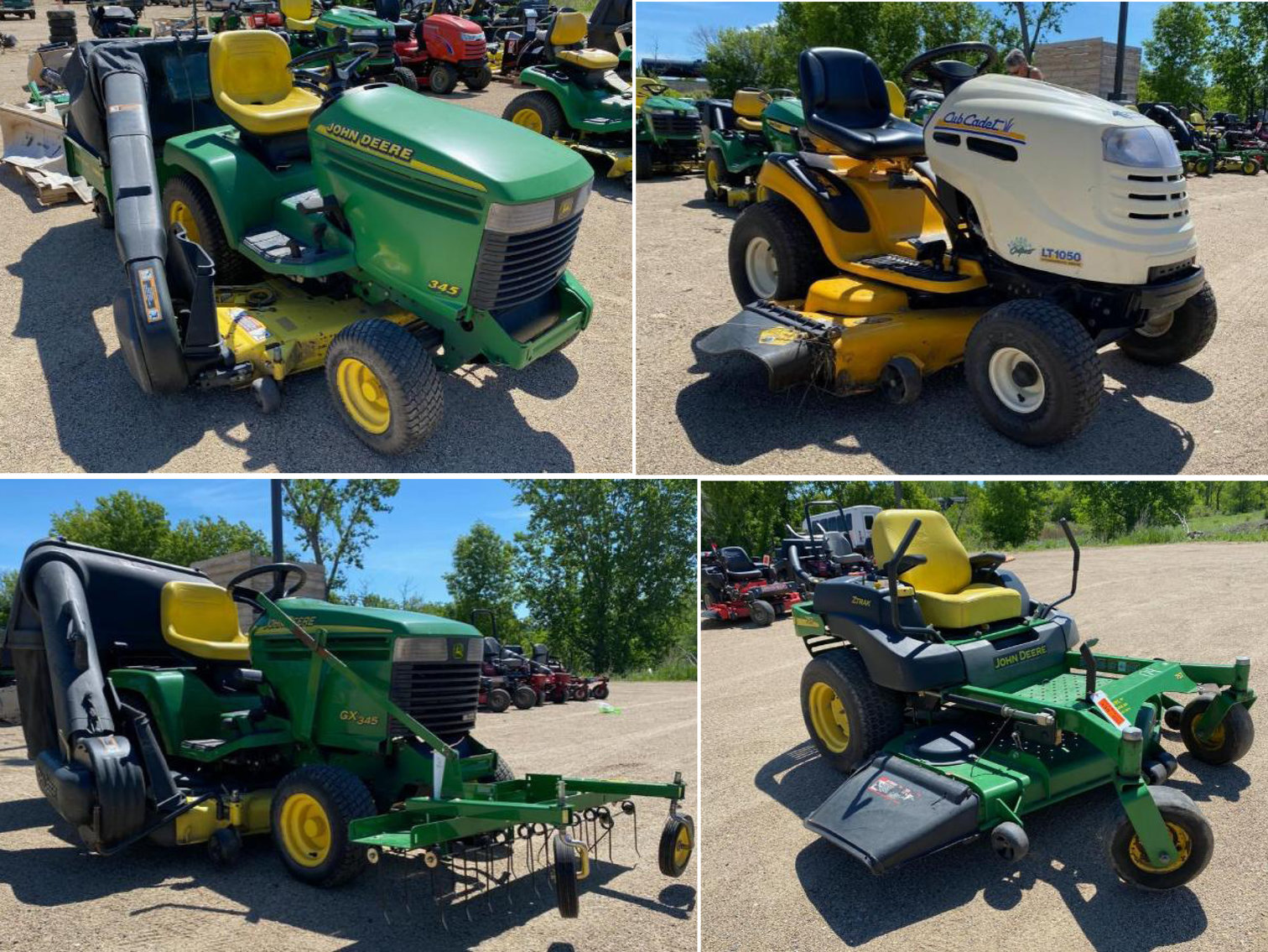Northwoods Auction Co. Lawn Mower & Equipment Auction