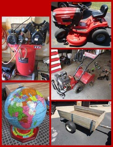 Schroeder Craftsman Rider, Tools, Household, Lawn & Garden