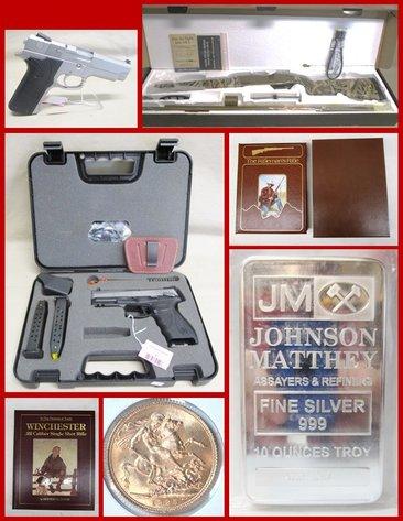 June Firearms, Ammunition, Rare, Sporting Books, Silver & Gold