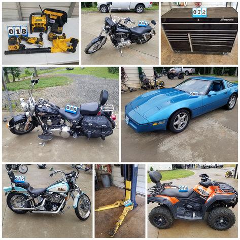 Garage/Shop Liquidation Online Auction