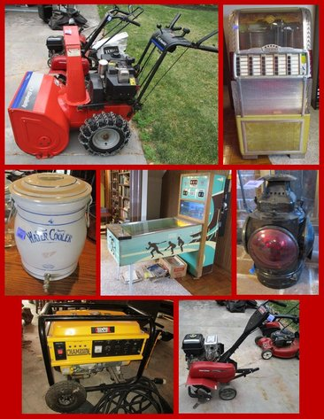 Chuck Hoffman Estate Lawn & Garden, Antiques, Household, and Vintage Collectibles