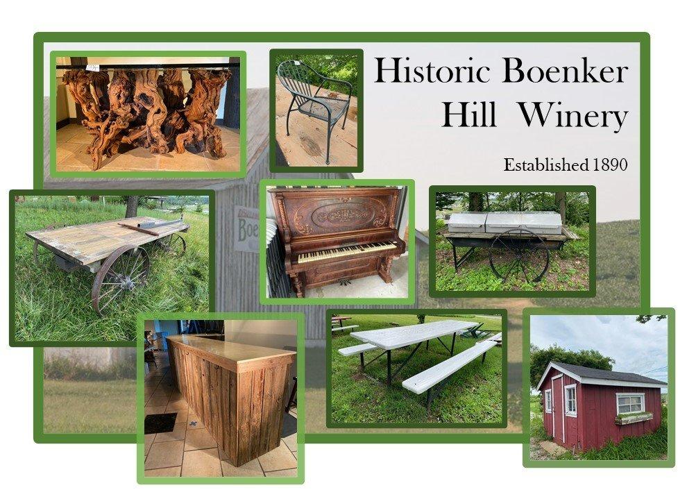 Boenker Hill Winery & Barn Historic Auction