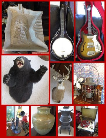 Tools, Antiques, Instruments and Household
