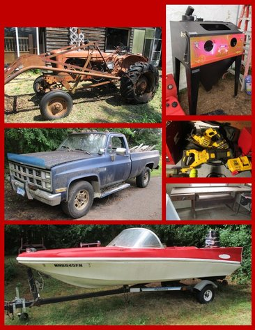 Tractor, Tools, Boats, Lawn & Garden