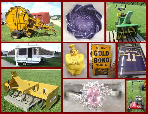 Farm, Tools and Antiques (pink tag)