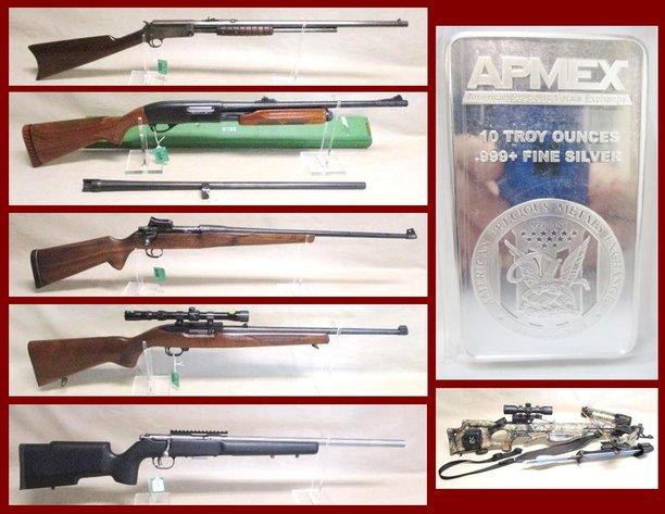 July Firearms, Ammo, Sporting & Silver