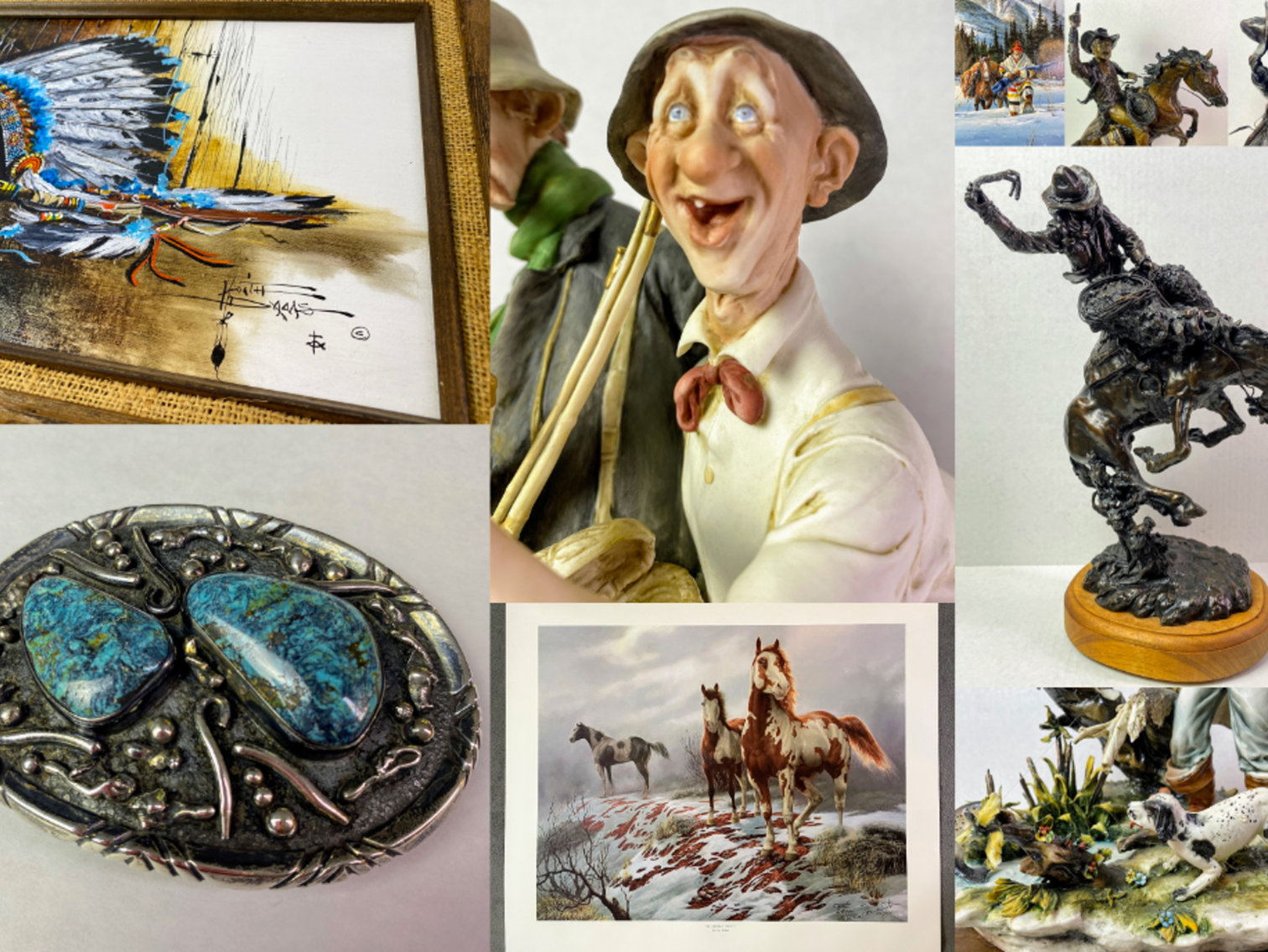Personal Property Liquidation Sale: Artwork,  Collectibles and Antiques