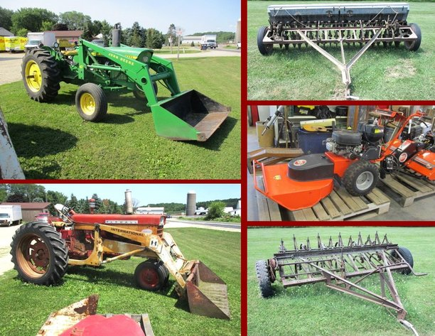 Farm Machinery Online Only