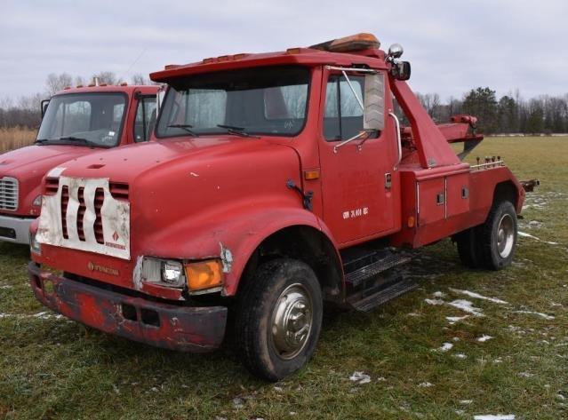 2007 IH 4300 4X2 Roll Back, 1998 Chevy Tow Truck, 2009 IH ProStar Premium, 1990 IH Wrecker, 53' Semi Trailer, 2008 Cadillac Escalade