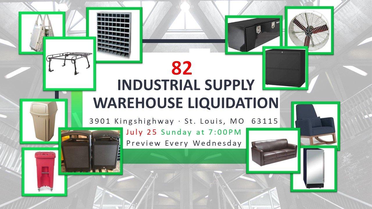 Industrial Supply Warehouse Liquidation #82