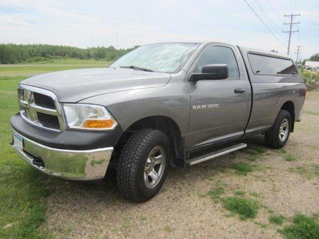 BUHL ONLINE AUCTIONS: 2012 DODGE RAM 1500, BOAT LIFT, & YARD TRAILER AUCTION AUCTION