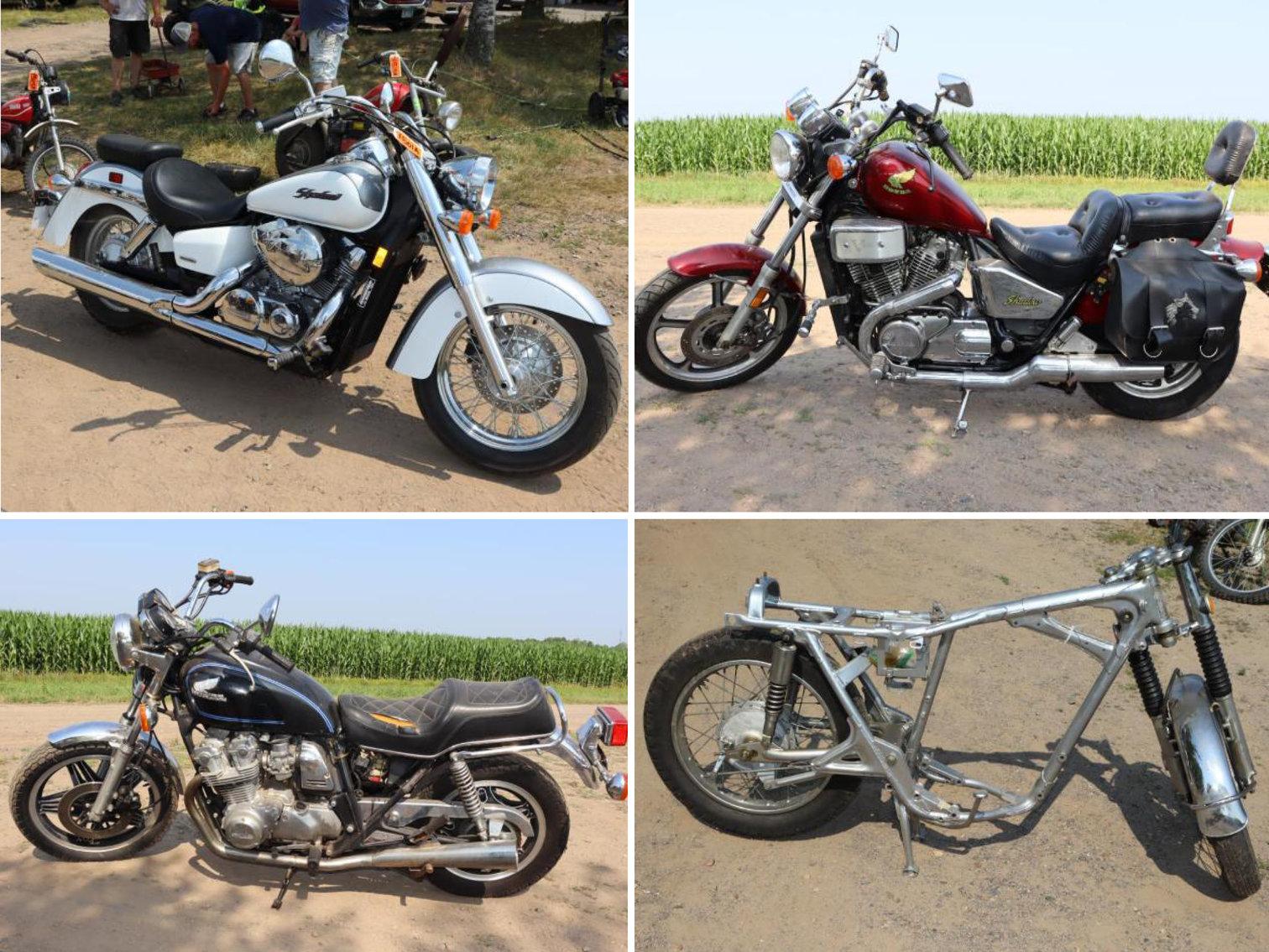 Lifetime Vintage Motorcycle Collection Phase 1: Honda, Kawasaki, Suzuki, Yamaha, Harley, Plus Motorcycle Parts and Accessories