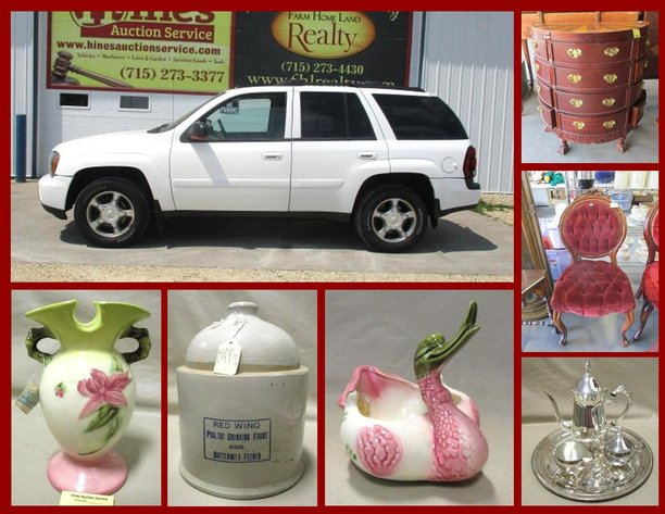 Vehicle, Furniture and Pottery