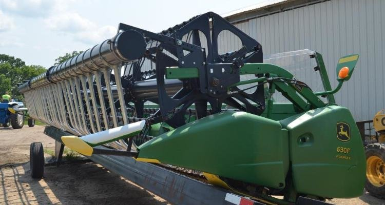 JD 9660 STS Combine & Heads, JD 4955, JD 4455, JD 7420 w/ Loader, Ford TW-35 and Farm Equipment