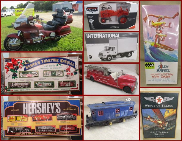 Motorcycle, Die-Cast Cars, Trains and Collectibles
