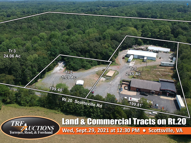 Scottsville Land and Commercial on Rt.20