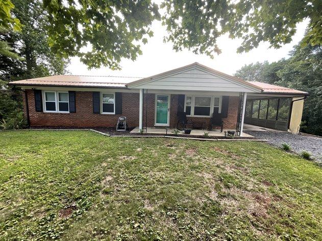 Brick Ranch Home in Martinsville, VA