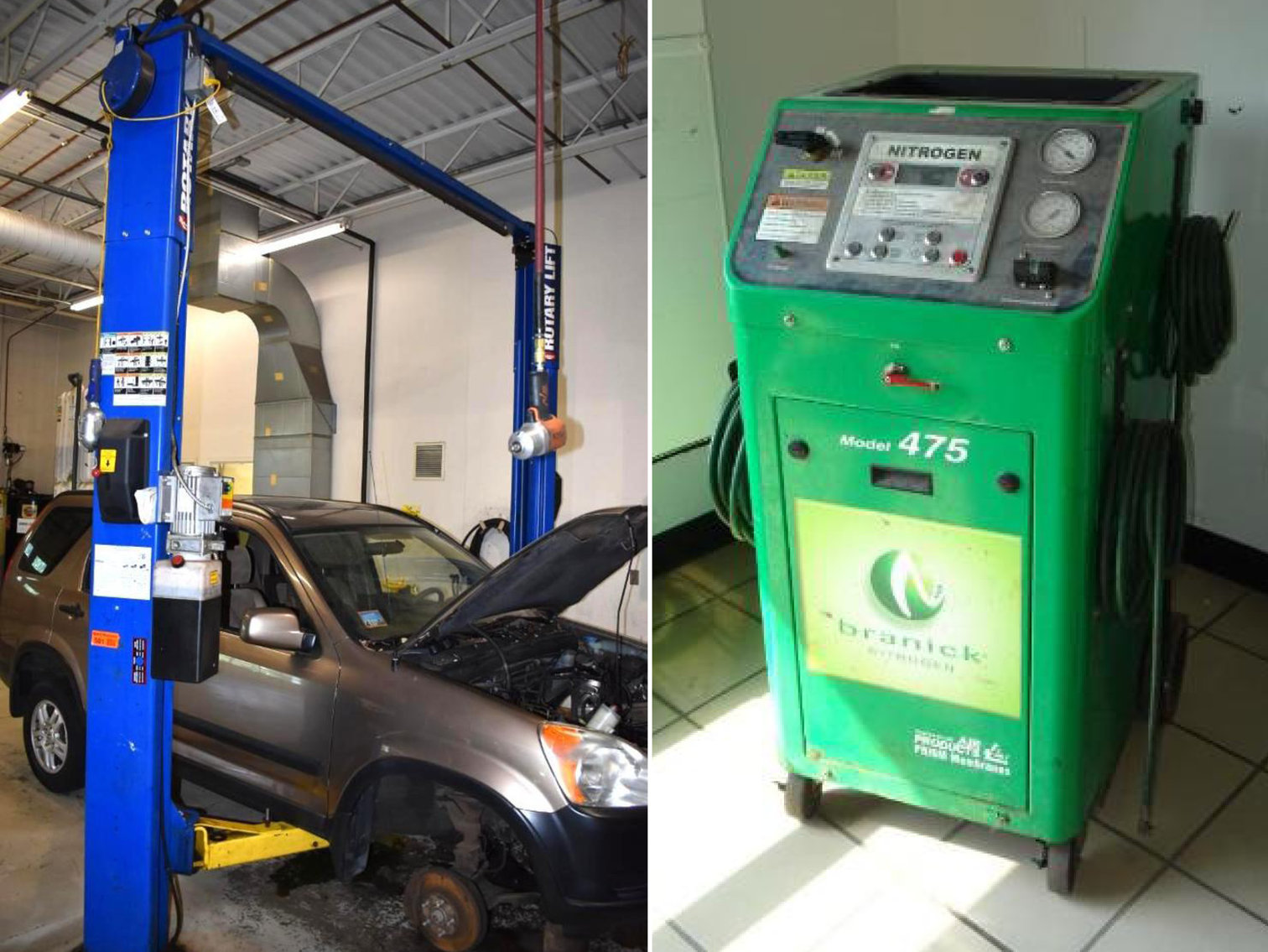 Franchise Car Store Rebuilding - Replacing Shop and Office Equipment