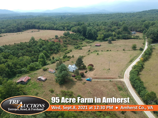 95 Acre Farm in Amherst VA