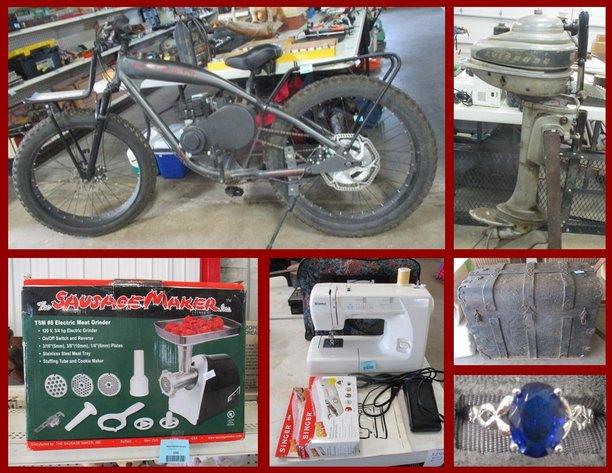 Vintage Motor Bike, Sporting, Phone Supplies and Furniture
