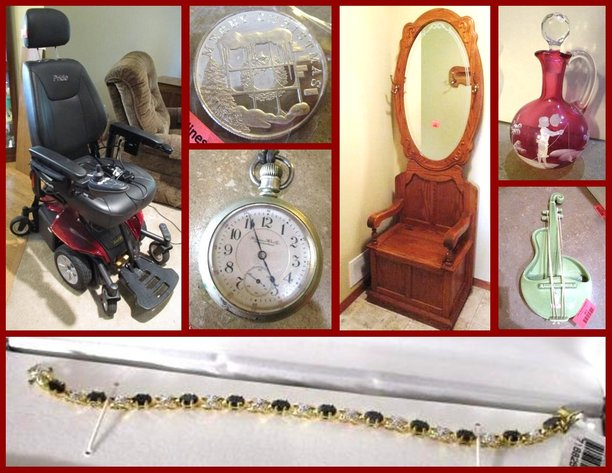 Power Chair, Furniture & Jewelry