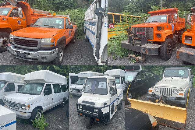 Hudson County Municipal Vehicles & Trucks
