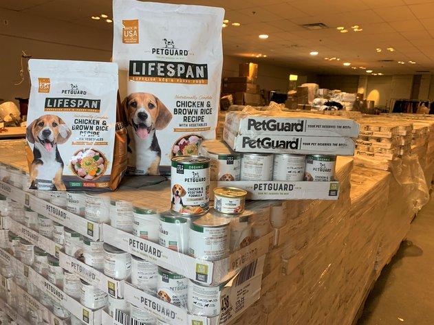 PetGuard All-Natural Pet Food Inventory