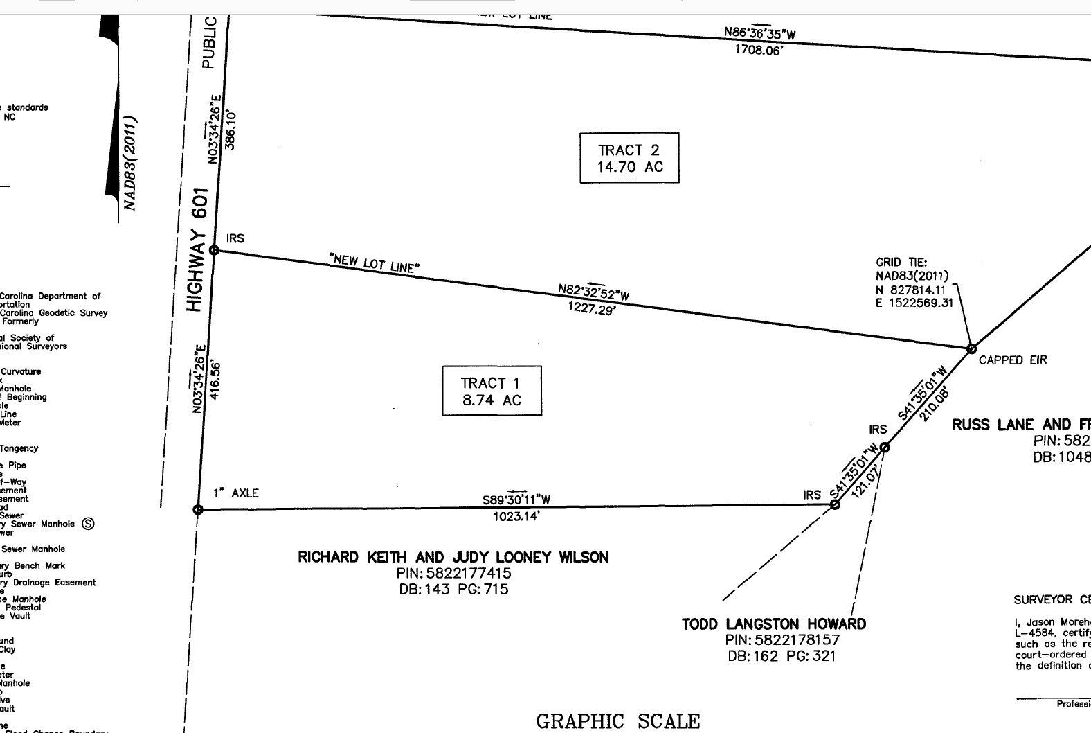 8.74 Acres, Davie County
