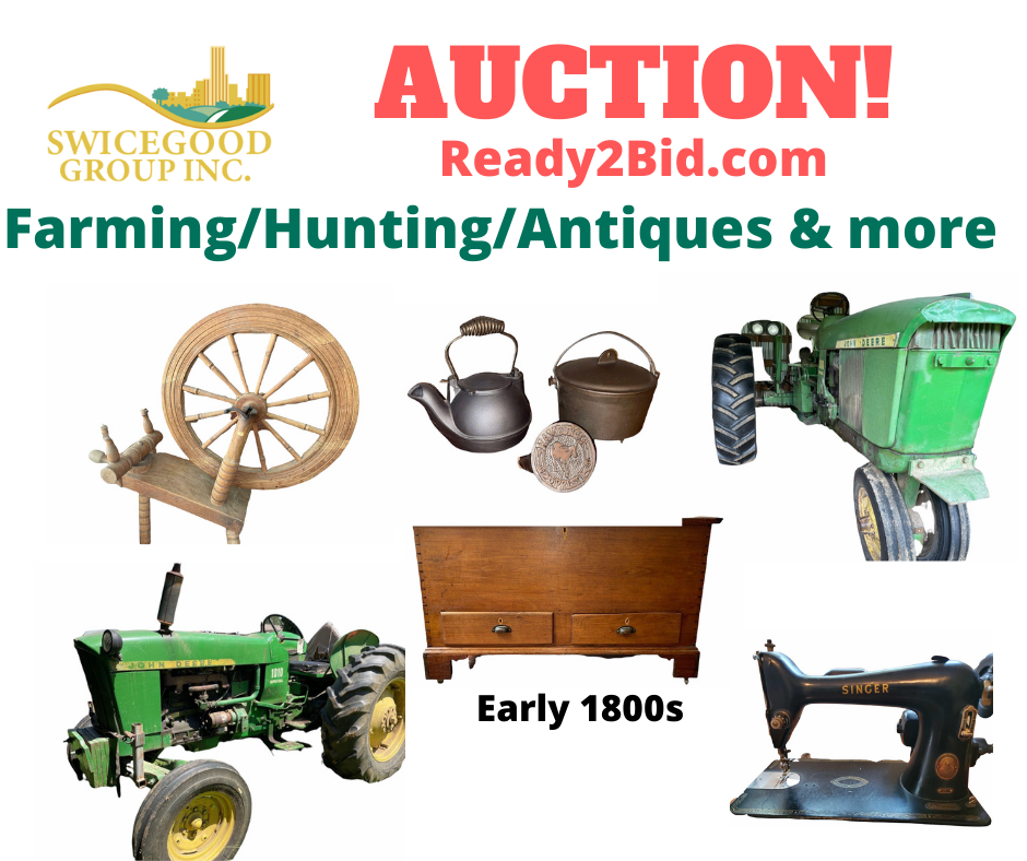 Farming/Hunting/Antiques & More!