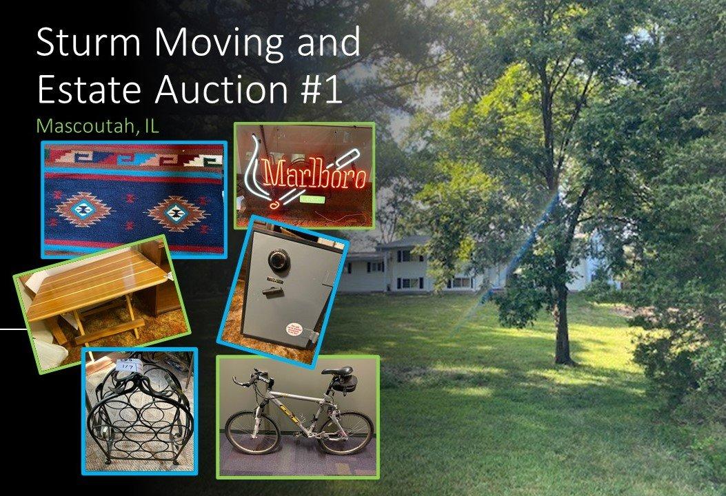 Sturm Moving & Estate Sale  - Part 1