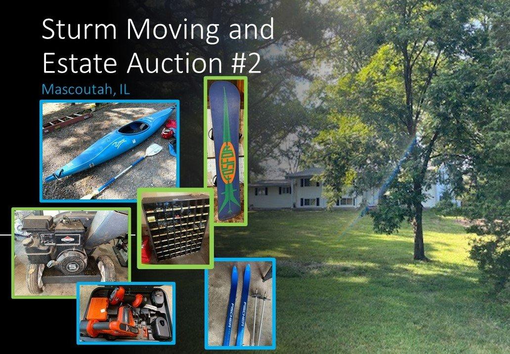 Sturm Moving/Estate Sale - Part 2