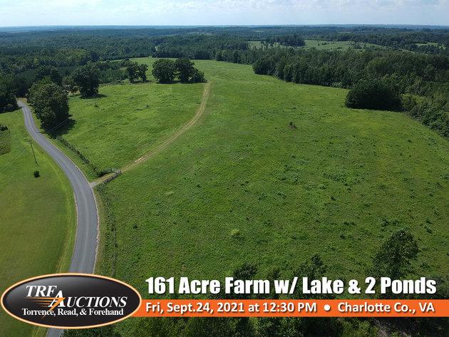 161 Acre Farm with Lake
