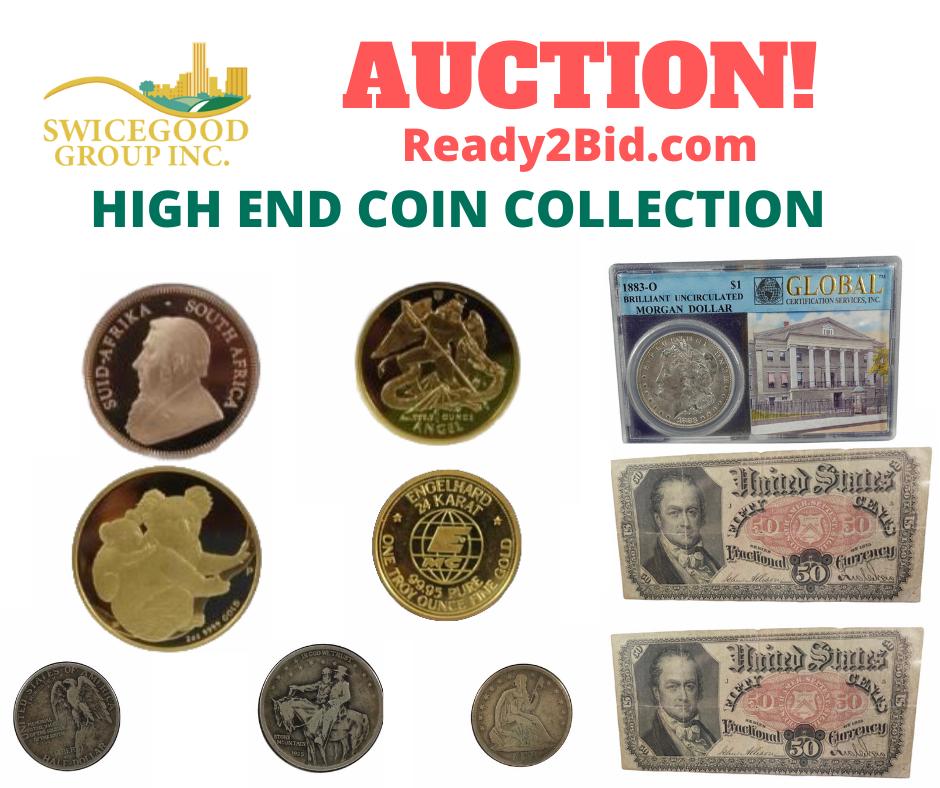 High End Coin Collection