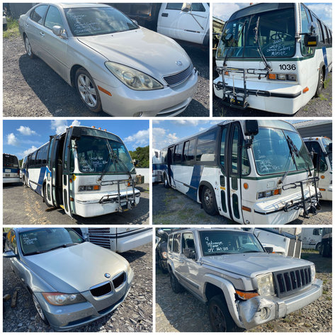 City of Winston Salem Buses & Salvage Vehicles - Online Only
