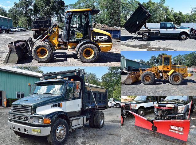 Landscape Contractor Equipment & Trucks