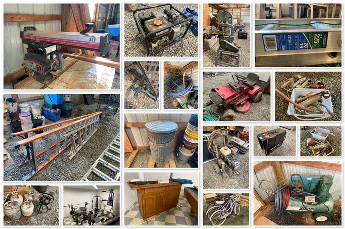 Tools & Miscellaneous Items Online Only Auction