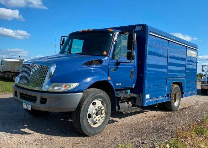 2008 Sterling Acterra Box Truck, 2004 IH 4300 Water Truck, 2003 IH 4300 SBA 4X2