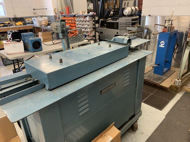 HVAC Metal Fabrication Shop