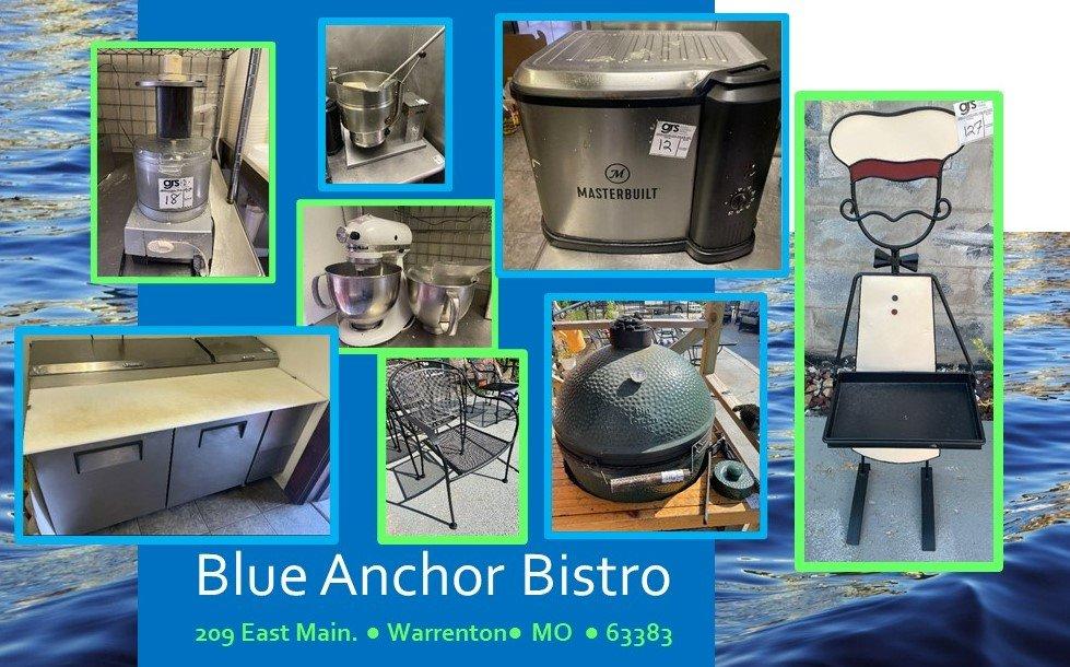 Blue Anchor Bistro - Warrenton Kitchen