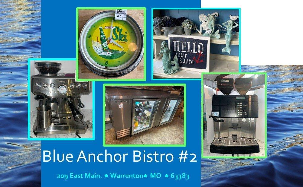 Blue Anchor Bistro - Coffee, Dining & Bar