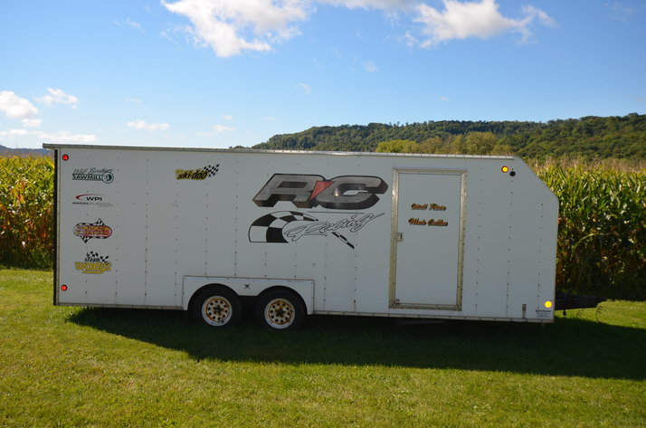 ENCLOSED TRAILER, POWER TOOLS, FURNITURE AND HOUSEHOLD ITEMS