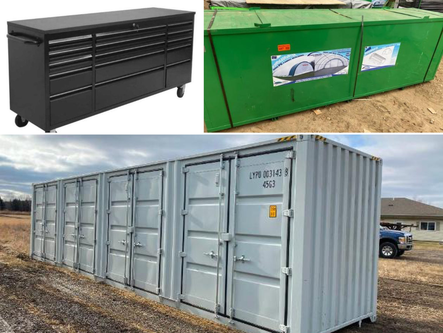 New Storage Buildings, New Tool Benches, New Lights & More