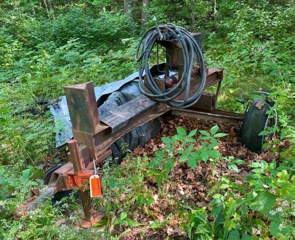 Spooner Area Estate: Massey Harris Tractor, 1957 Ford Fairlane, Tools & Toys