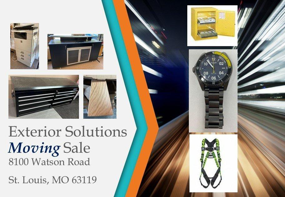 Exterior Building Services Moving Sale