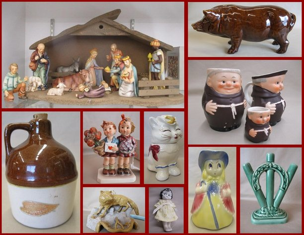 Shirley Hines Estate Dept 56, Hummels  and Collectibles
