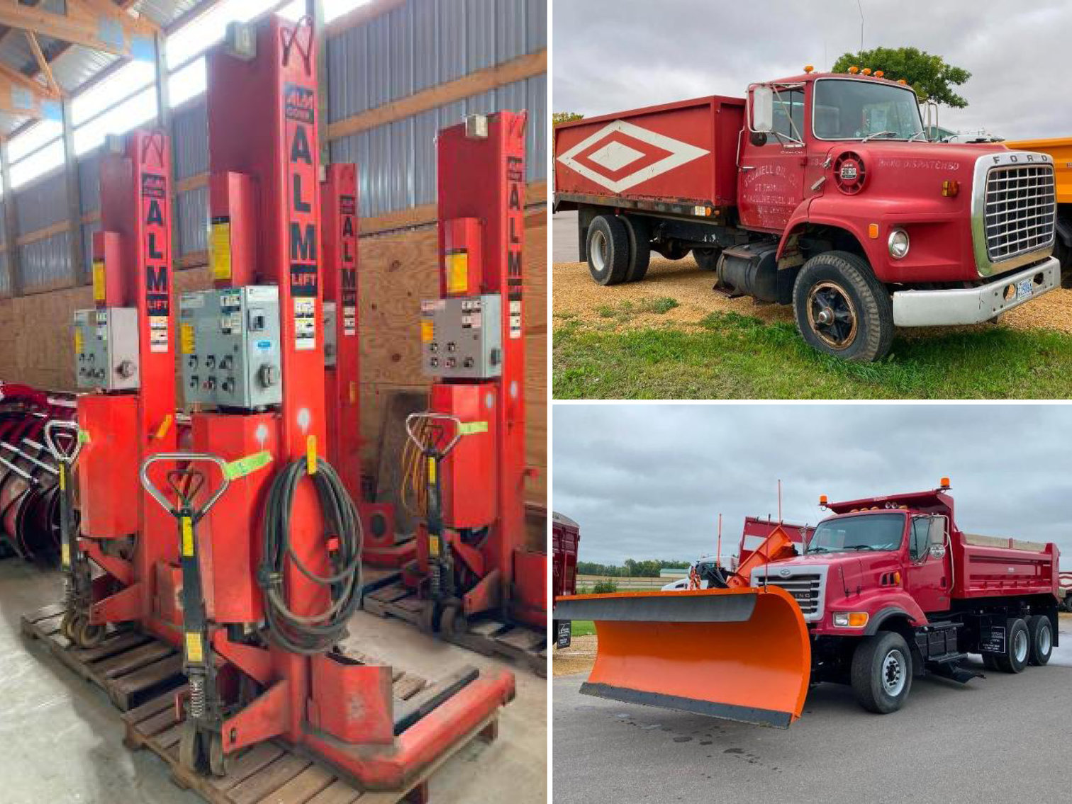 Crysteel Truck Equipment Surplus to Ongoing Operations